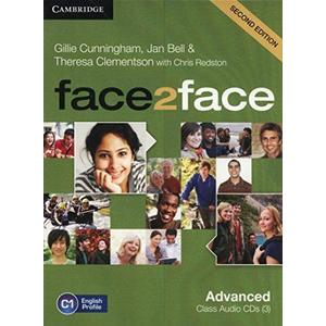 Face2Face Advanced (second edition) - Audio CDs (3ks)