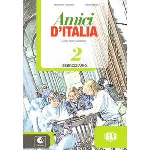 Amici di Italia 2 - Eserciziario + CD (italština 2.st. ZŠ a SŠ)  PS