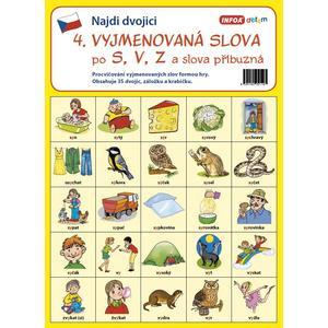 Najdi dvojici - ČJ 4 - Vyjmenovaná slova po S, V, Z